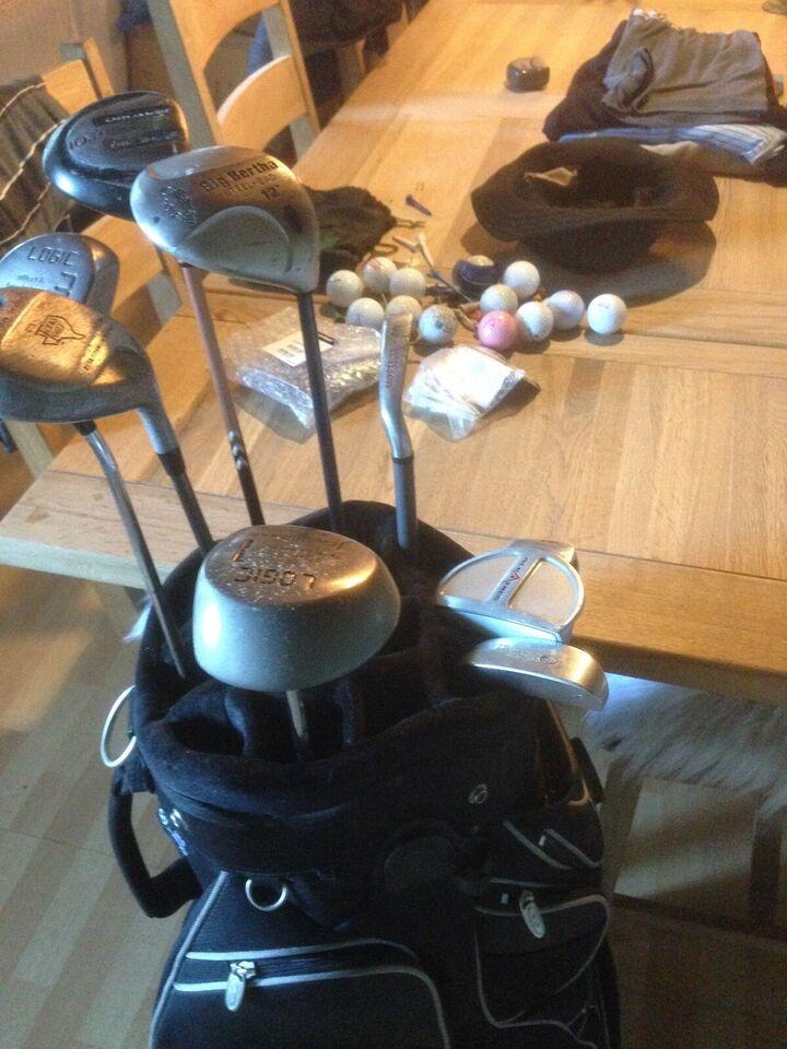 Andet golfsæt, flere