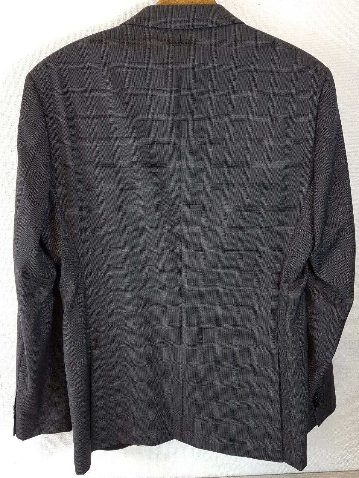 7d6608c92 Hugo Boss Genuine James Sharp Mens Suit Charcoal Top Jacket Size 40 ...