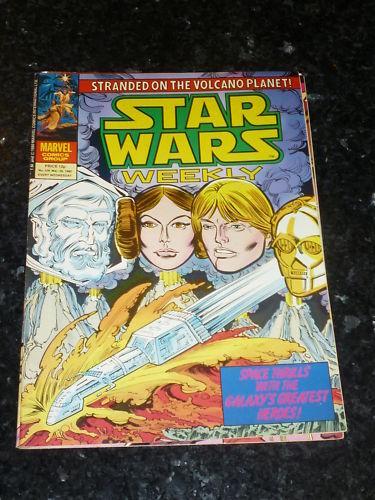 No 109 Star Wars Weekly Comic Date 26//03//1980 UK Marvel Comic