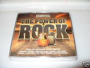 The-Power-Of-Rock-Essential-3-cd-New-And-Sealed