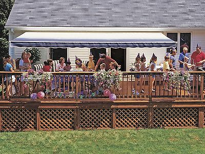 16-FT SunSetter VISTA Manual Retractable Awning, Outdoor ...