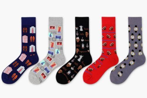 Traveler socks Footy socks.AFL socks.Coffee socks Business socks.Gift pack