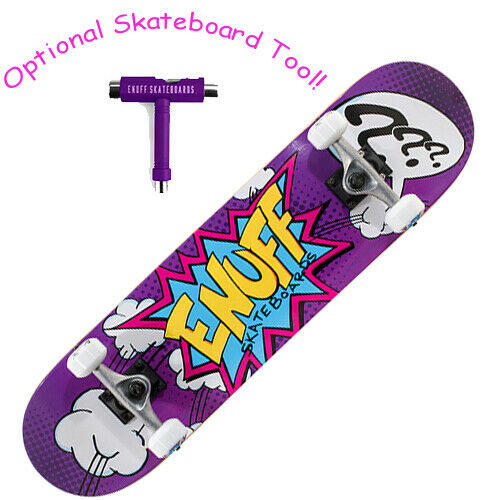 Enuff Pow Complete S board Purple Mini 7.25 - Optional S board Tool