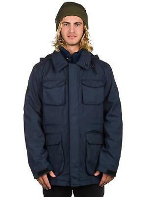 Navy RRP £89 Bellfield Gorin Coat Two Jackets in One