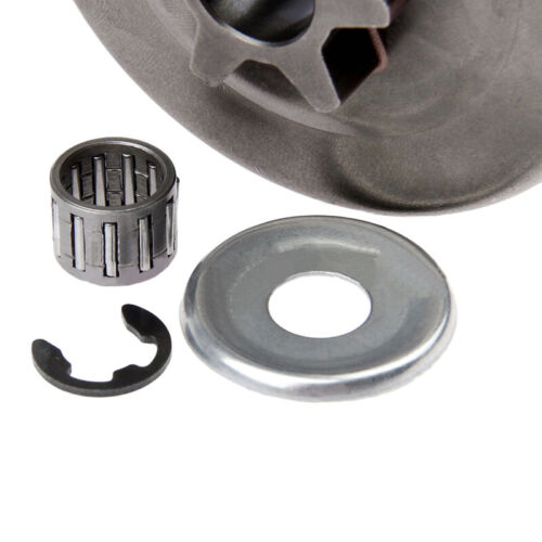 Chainsaw Parts For STIHL MS170//180 Clutch Drum Washer//Sprocket E-Clip Kit 3//8//6T