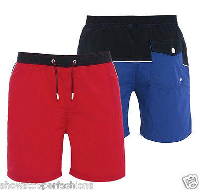 Neue Mode New Mens Swim Shorts Nautical Summer Shorts Beach Casual Size S M L Xl Short Red Den Speichel Auffrischen Und Bereichern