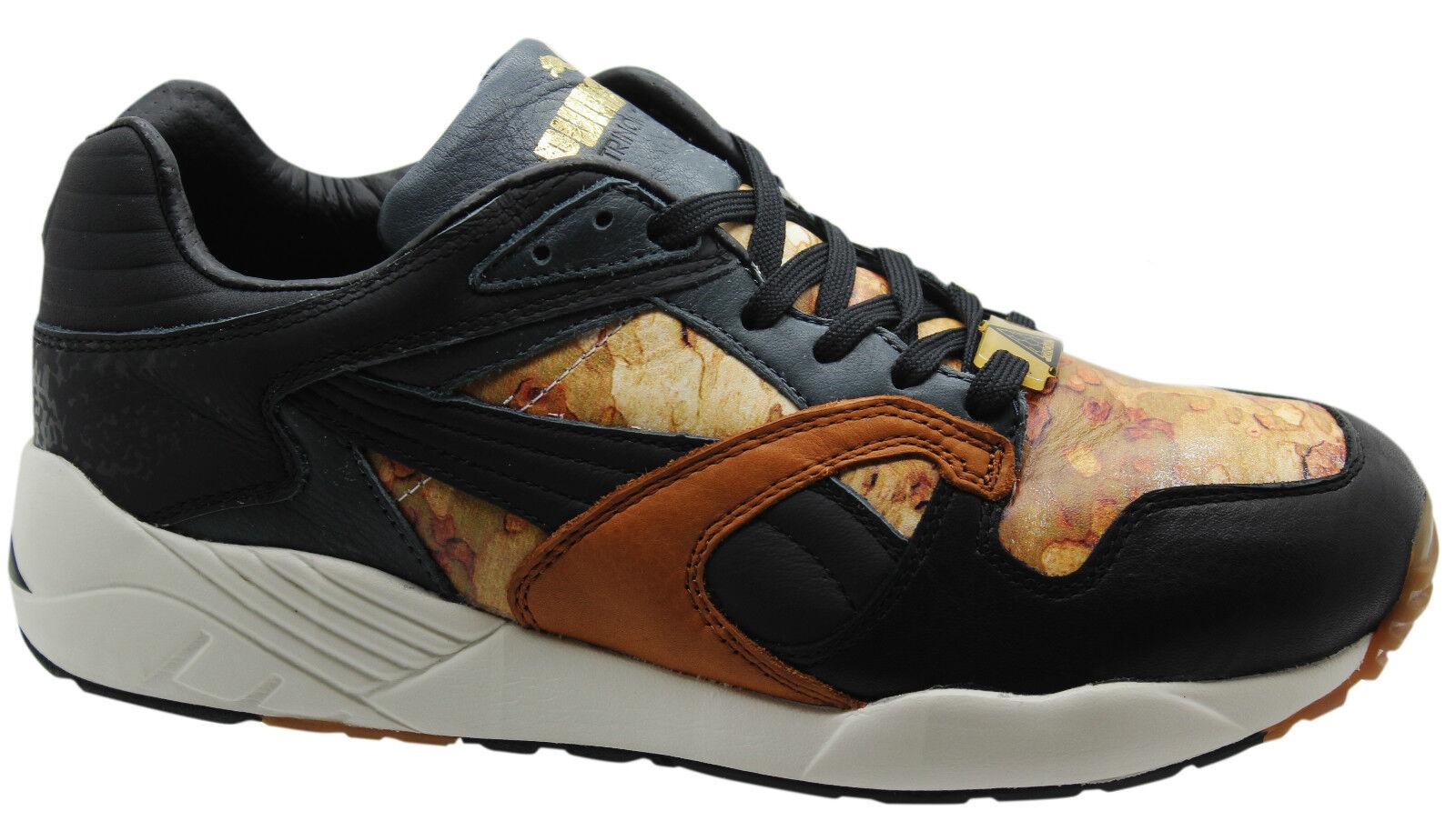 Puma trinomic xs 850 plus camo scarpe pelle sportliche  Herren nero pelle scarpe aber 357362 01 495d4d