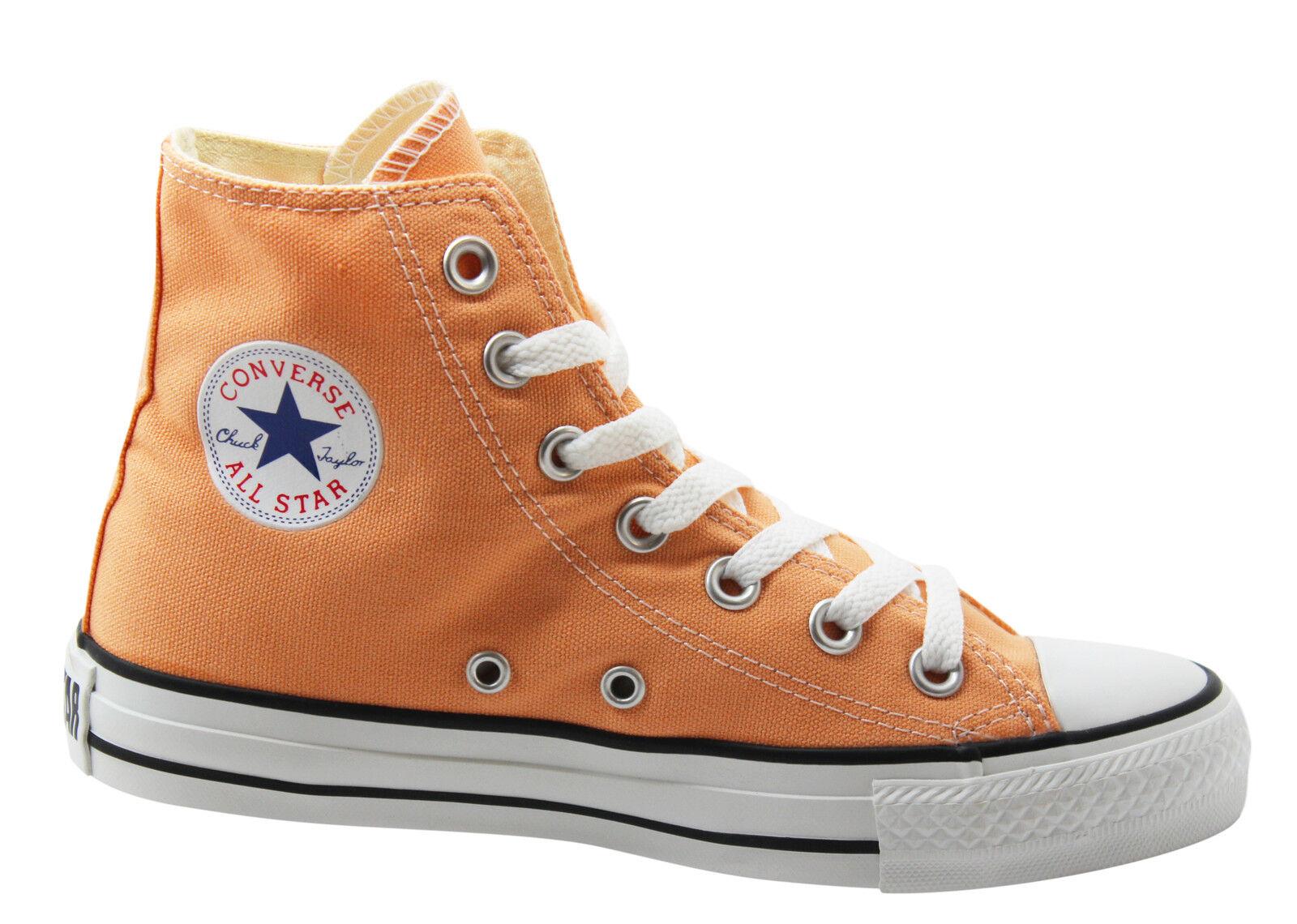 c10dab44192295 Converse Chuck Taylor All Stars Hi Tops Mens Trainers Boots Peach ...