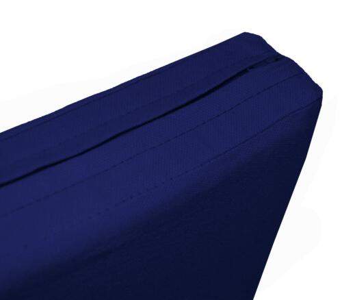 Aw17t Royal Blue High Quality 12oz Thick Cotton Canvas 3DSeat Sofa Cushion Cover