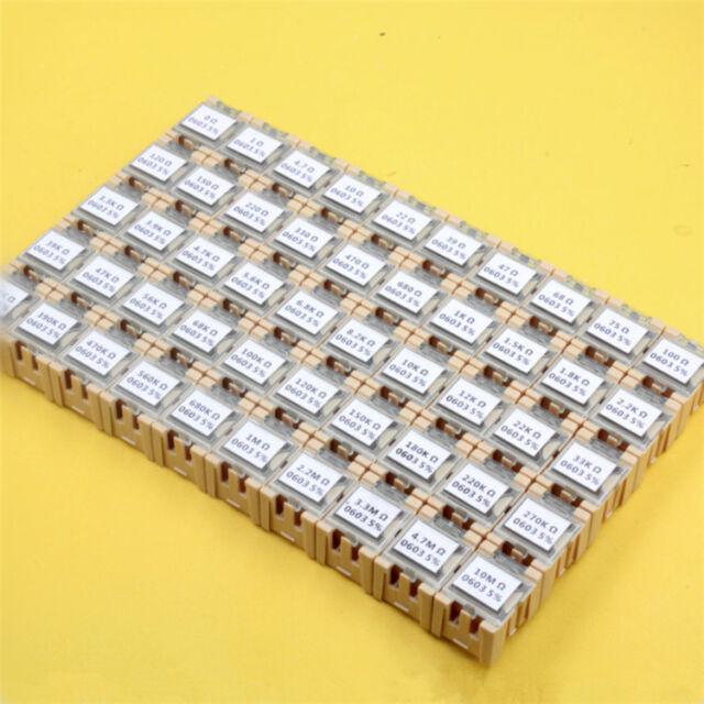 1206 SMD//SMT Resistors 1//4W 0.25W ±1/% Thick Film Resistance ALL Value 0Ω TO 10MΩ