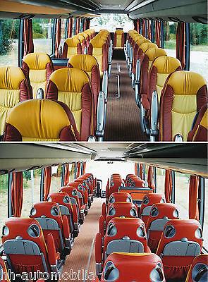 Automobilia Auto & Motorrad: Teile Treu Originales Pressefoto 2002 Setra 2+1 Bestuhlung Foto Bus Reisebus Omnibus Press