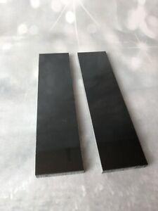 KIRINITE-BLACK-PEARL-1-4-034-Scales-for-Knife-Making-Woodworking-Bushcraft-Inlays