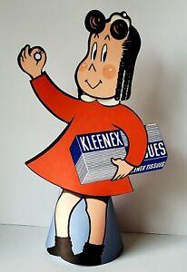 Vintage 1950 Little Lulu Kleenex Advertising Counter Store Display