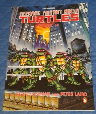"1990 ** Teenage Mutant Ninja Turtles Book Ii 1987 Series * 126 Pages 11"" X 8"" Neueste Technik"