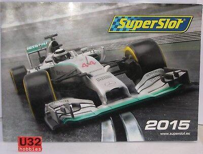 Bestellung Katalog Slot Car Jahr 2015 Neu 36 Seiten Scalextric Uk Lustrous Surface Spielzeug