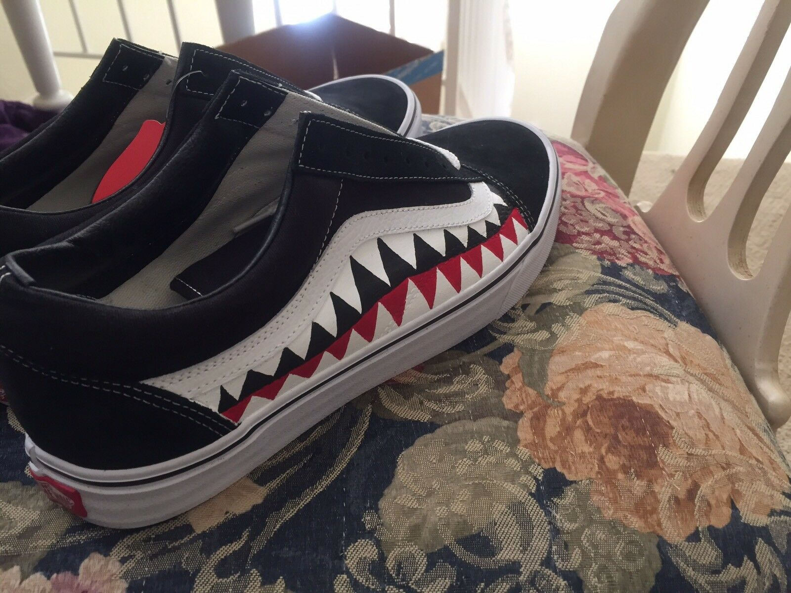 Cheap Nice Custom Bape Vans on the sale
