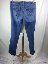 Calvin Klein Size 30 / 10 Cotton Lycra Pencil Straight Denim Jeans 34 x 30