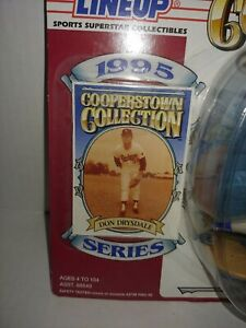 1995  Starting Lineup Cooperstown Collection DON DRYSDALE Figure w/ Card