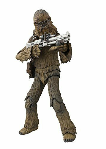 S.H. Figuarts Solo Star Wars Histoire Chewbacca action figure From JAPAN