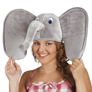 a600ace76e1d2 Image is loading BIG-EARED-ELEPHANT-NOVELTY-ANIMAL-HAT