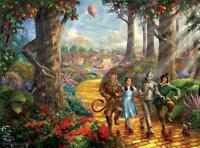 Thomas Kinkade 75th Anniversary Puzzle Follow The Yellow Brick Road 3357-3