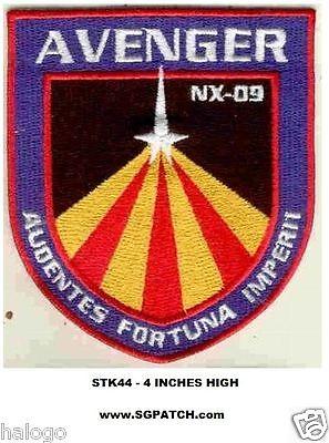 STAR TREK NX-09 AVENGER PATCH - STK44