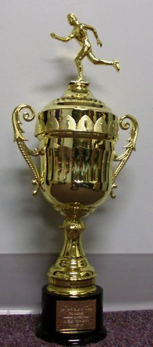 """NEW 20/"""" All Plastic Cup Trophy Award Gold Finish"""