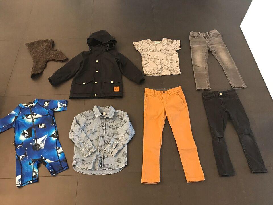 Blandet tøj, Jeans, skjorte