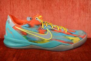 0fccd31d0c7 WORN TWICE 2013 Nike Kobe 8 System Venice Beach Multi Color 555035 ...