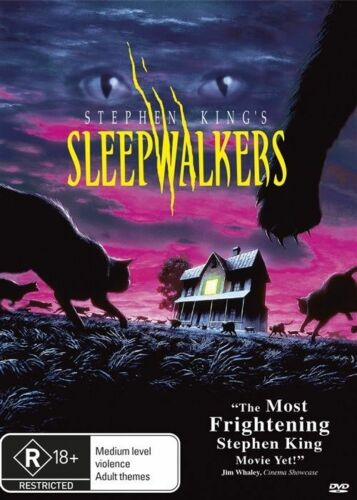 1 of 1 - Sleepwalkers (DVD, 2015)Stephen King*R Rated Horror*R4*Terrific condition