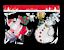 Natale-Natale-Finestra-Vetro-GEL-ADESIVI-DECORAZIONI-PLACCA-Stencil-Babbo-Natale-Design miniatura 7