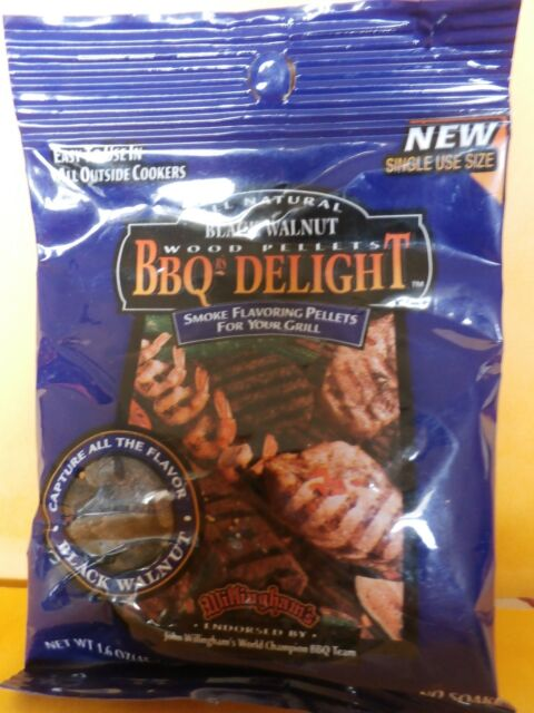 BBQR/'s Delight All NaturalOak Wood Pellets 1.6 OZ one time use