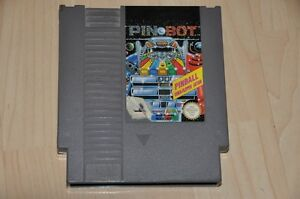 Nintendo-NES-JEU-module-pin-bot-pinball-Flipper