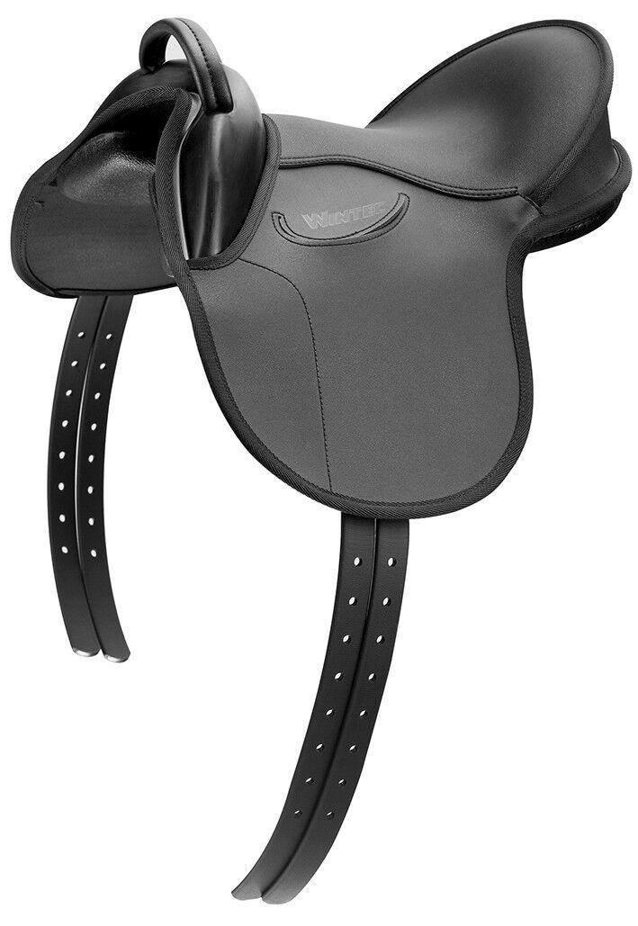 WINTEC Kids generale Tutti Scopo Pony Sella comfort, sicurezza, stabilità Nero