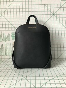 9ef1663b3883 Image is loading NWT-MICHAEL-KORS-EMMY-LARGE-BACKPACK-SAFFIANO-LEATHER-