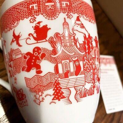 Holiday Calamityware 12 Oz Coffee Tea Mug Porcelain Calamity Ware Cup Christmas Ebay