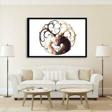 5D DIY Full Drill Diamond Painting Love Deer Cross Stitch Embroidery Mosaic ART