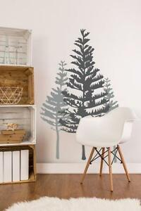Image Is Loading Tree Wall Decal Rustic Decor Woodland
