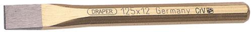 Genuine DRAPER Expert 12mm x 125mm Octagonal Flat Cold Chisel51546