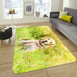 3D-Smiling-Dog-Natural-S047-Animal-Non-Slip-Rug-Mat-Elegant-Photo-Carpet-Sunday