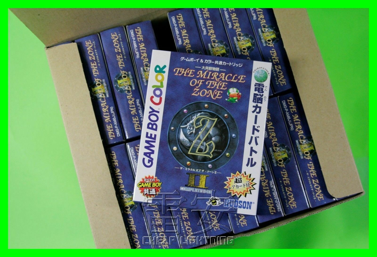 Nintendo Gameboy Color The Miracle Of The Zone Ii Jap Dans L