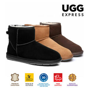 【EXTRA20%OFF】UGG Boots Mini Men Women Classic AuSheepskin Wool Suede Ankle Boots