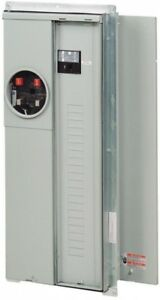 Eaton Main Breaker Aluminum 200-Amp 20-Space 40-Circuit Outdoor Load Center