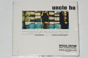 UNCLE HO -Everything Must Be Destroyed- CD (Special Edition) NEU, OVP