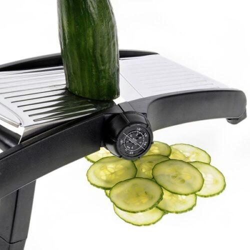 Drehhobel Vario Westmark Acier Inoxydable Légumes Rabot concombres Rabot Taureau Râpe