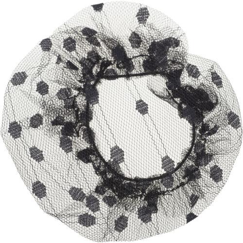 Vintage JACKIE Retro POLKA DOT Punkte Haarnetz HAIRNET Pin Up Hairdo Rockabilly