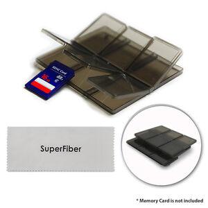 2pcs Memory Card Storage Case Holder for SD SDHC MMC MicroSD by Lusana Studio