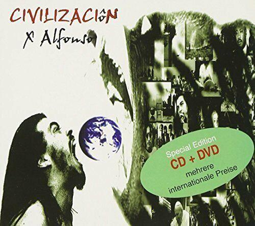 X Alfonso Civilizaciôn (CD/DVD)  [2 CD]