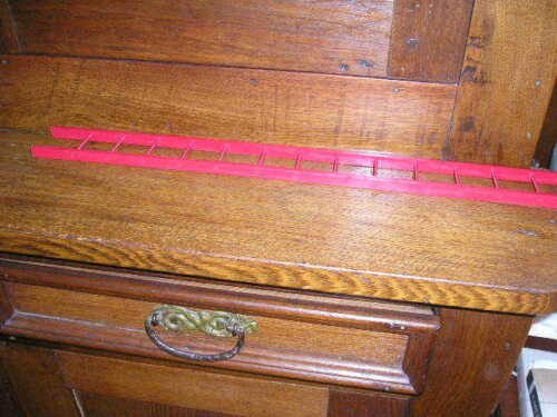 """HUBLEY KENTON 1-9/"""" SPECIAL WOOD LADDER  ARCADE DENT AND OTHER TOYS"""