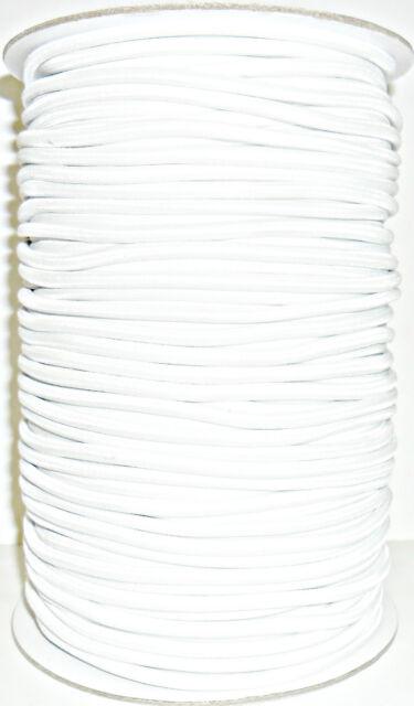 Alta Calidad Blanco Cuerda Elástica Cordón Elástico 4MM Ancho,Disponible en